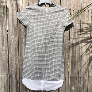 🦋 3/$15 NY&CO plaid shirt dress with pockets
